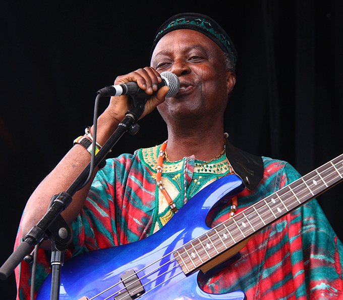 West African Highlife Band Performing at National Folk Festival