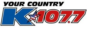 Your Country K 107.7 Logo
