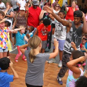 groups learning to dance