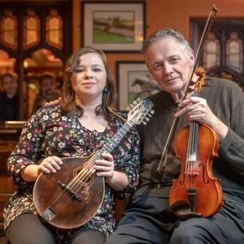 Maryland Traditions - Irish fiddle,  Brendan Mulvihill and Emily Martin