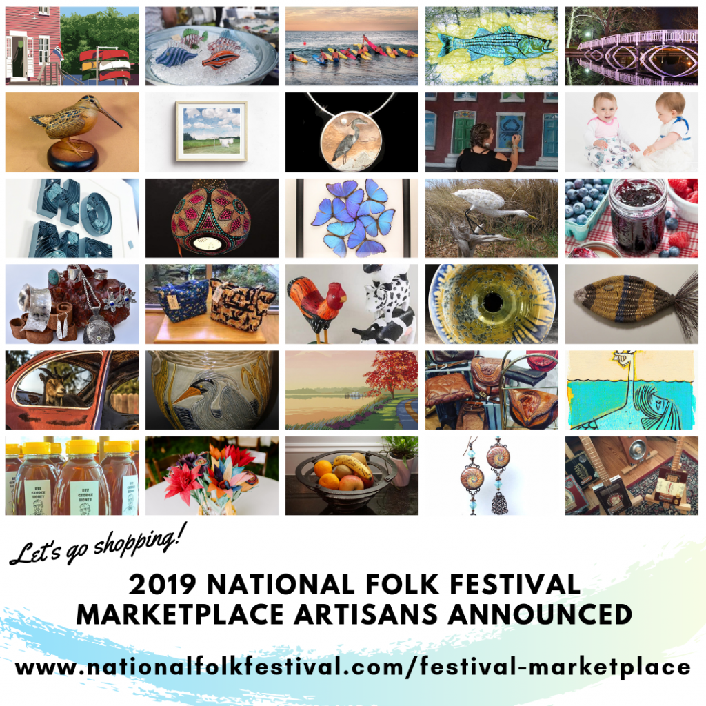 79th National Folk Festival Marketplace Artisans Announced